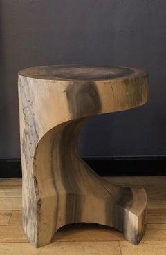 Brancusi's Bite, Driftwood finish Acacia