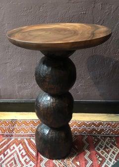 Snaka-Waka Table, Naturally finished Acacia