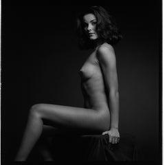 Shadow and Beauty - Beatrice # 03 - Alberto Desirò - Black & White Photos Nude