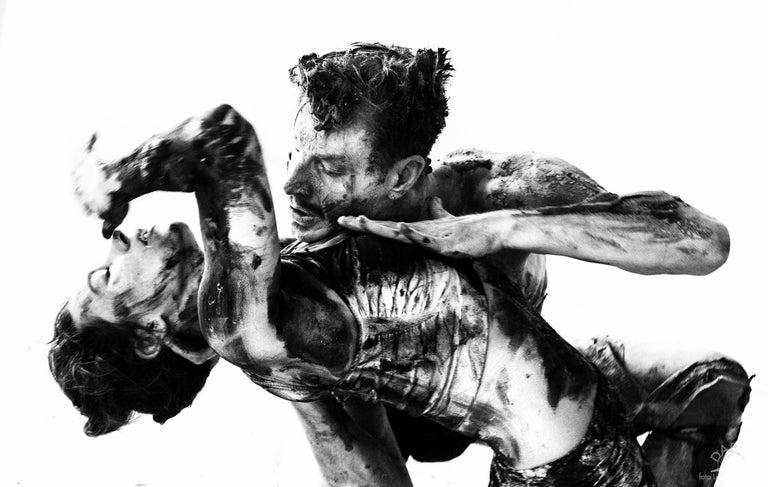 The Crowd #01 triptych - Luca Di Bartolo - Black & White Photos 2