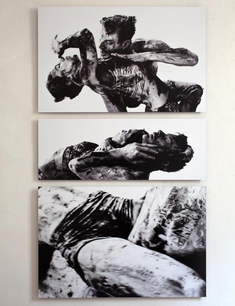 The Crowd #01 triptych - Luca Di Bartolo - Black & White Photos 5