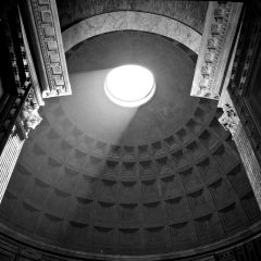 PANTHEON #01 - Alberto Desirò - Black & White photos - architecture - monuments