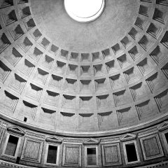 PANTHEON #02 - Alberto Desirò - Black & White photos - architecture - monuments