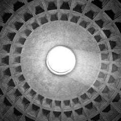 PANTHEON #03 - Alberto Desirò - Black & White photos - architecture - monuments