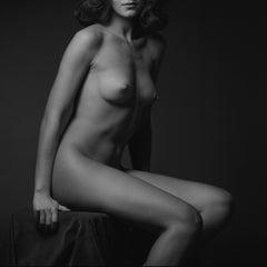 Shadow and Beauty - Beatrice # 06 - Alberto Desirò - Black & White Photos Nude