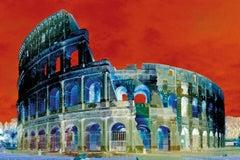 Colossus - Roma Caput Mundi - Graziano Villa - Fine Art Color Print Architecture