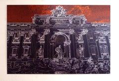 Fontana di Trevi - Roma - Graziano Villa - Fine Art Color Print Architecture