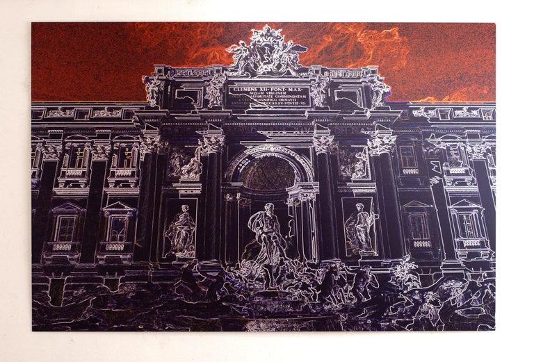 Fontana di Trevi - Roma - Graziano Villa - Fine Art Color Print Architecture - Photograph by Graziano Villa