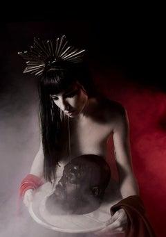 Salomè #08 - Davide Conti - Allegories Nudes, Figurative print color