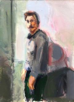 The Spaniard - Contemporary, Acrylic on Canvas, 21st Century