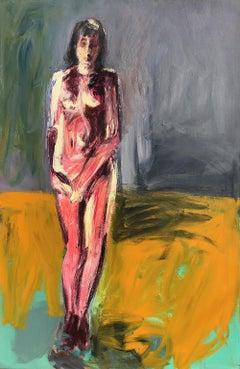 Vision - Contemporary, Acrylic on Canvas, 21st Century