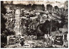 Chimoio, Mozambique, Where I come From- Contemporary, Etching, 21st Century