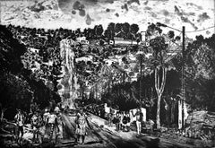 Day to Day of people of Chimoio- Contemporary, Etching, 21st Century