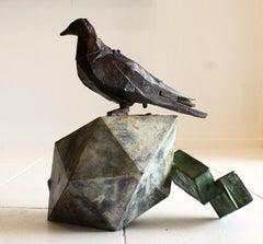 Icosahedorn 10- Still life Sculpture, Bronze 1/1, 21st Century