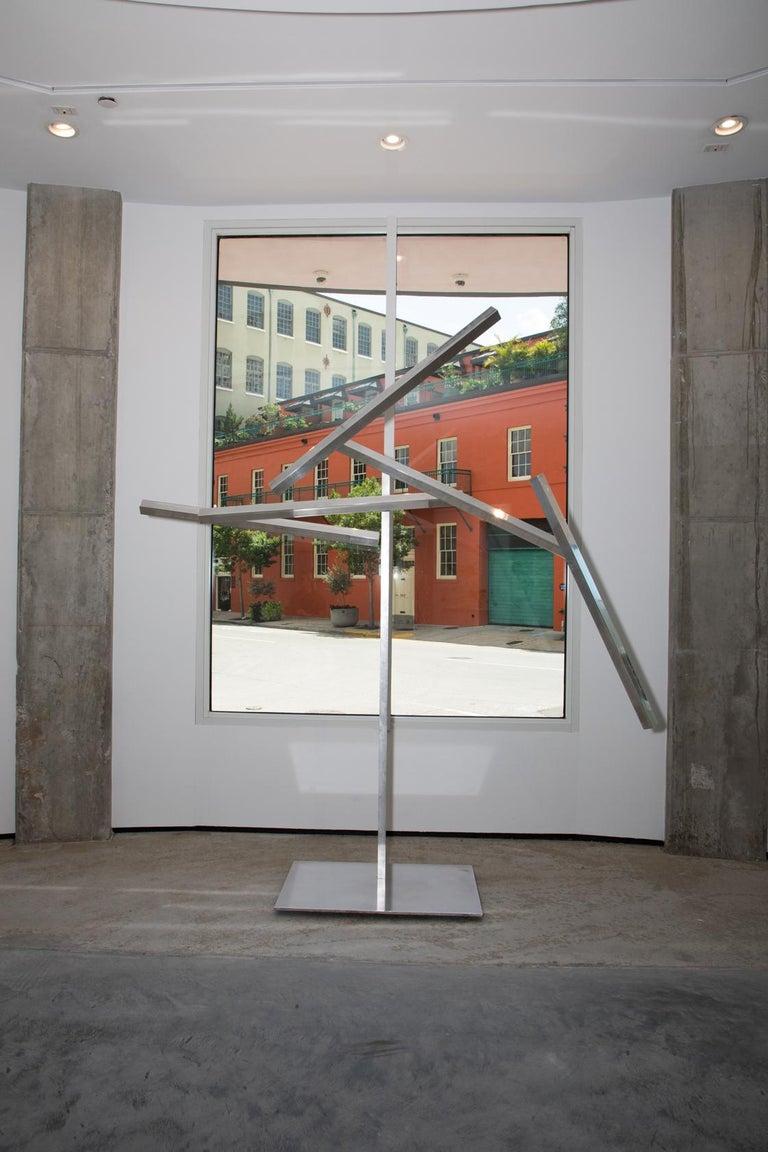 John Poché Abstract Sculpture - Five Limbs Akimbo