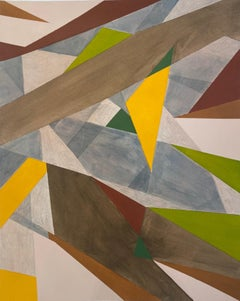 Gouache Abstract Paintings