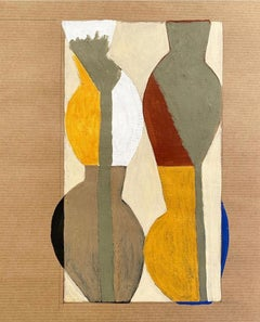 Four Jugs Behind the Two Palms: A Study