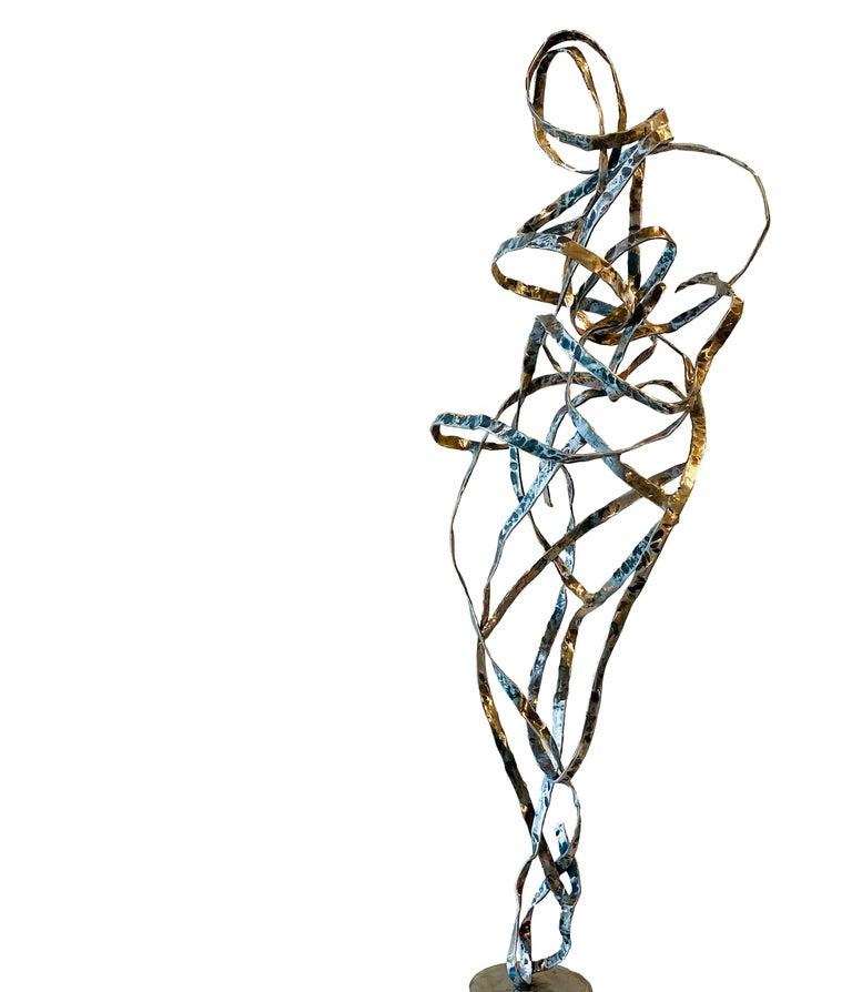 Diagonal Lines - Sculpture by Erica Larkin Gaudet