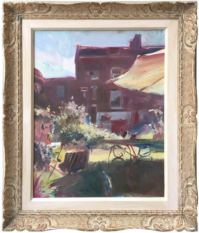 Howard Morgan Landscape Painting - A Clapham Garden