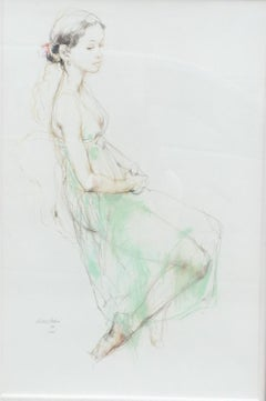 1990s Portrait Drawings and Watercolors
