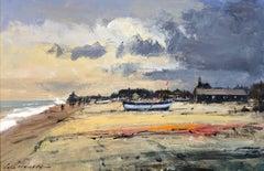 'Wind over tide - Aldeburgh' by Contemporary British Impressionist - Realist