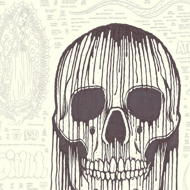 Large Skull - Art by Mike Giant