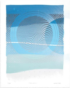 "Erik Otto, ""Wavelengths - Twilight Edition"", Hand-Painted Multiple, 2017"