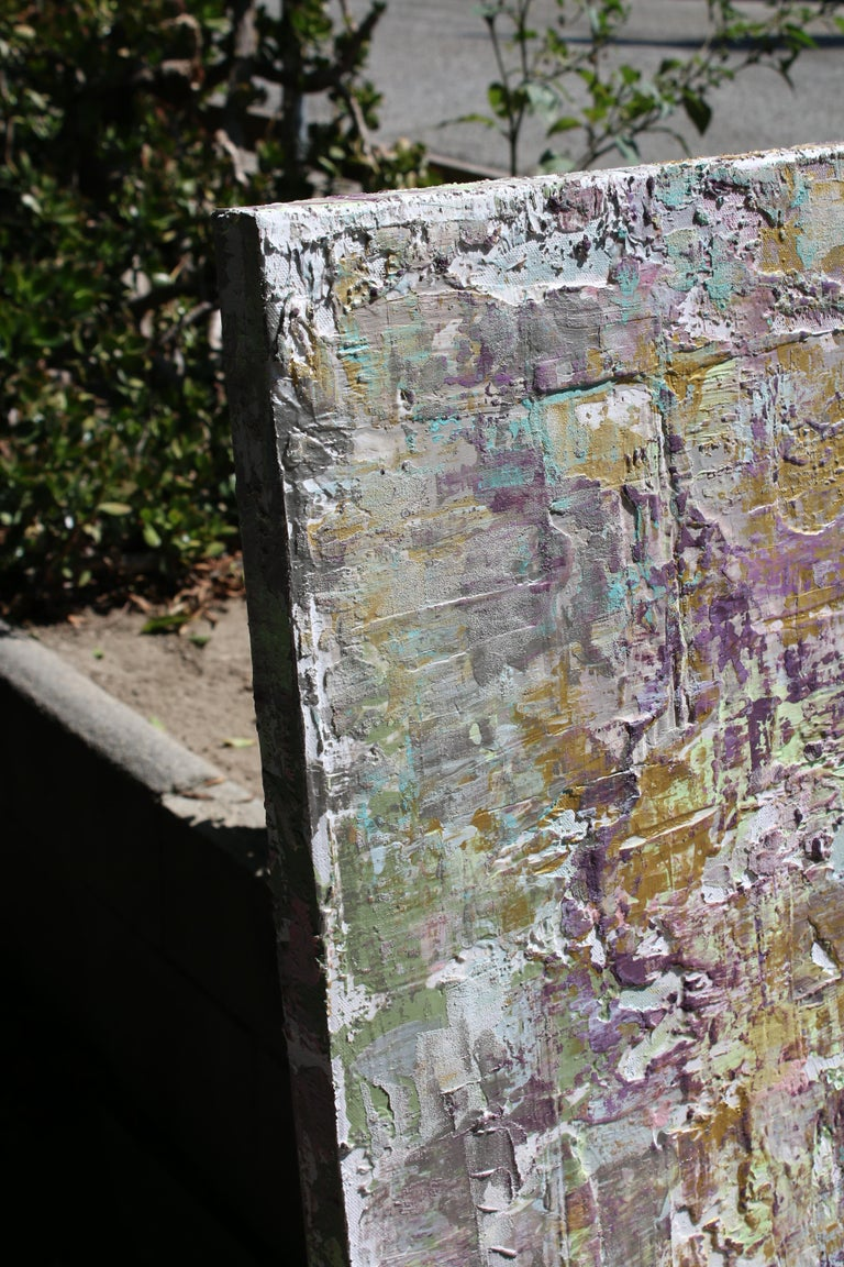 """30 x 48"""" inches, Mixed Media on Stretched Canvas: Acrylic, Stucco, Modeling Paste - Heavy Textured 2016 in Los Angeles, CA  TEXTURED ABSTRACT ART Irena Orlov's textured abstract art is where my paintings really jump off the canvas, giving a new and"""