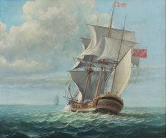 Maritime Scene, Ships at Sea