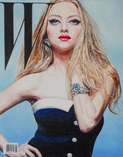Original oil painting by Robert Lemay  MYTHOLOGY 15 AMANDA SEYFRIED
