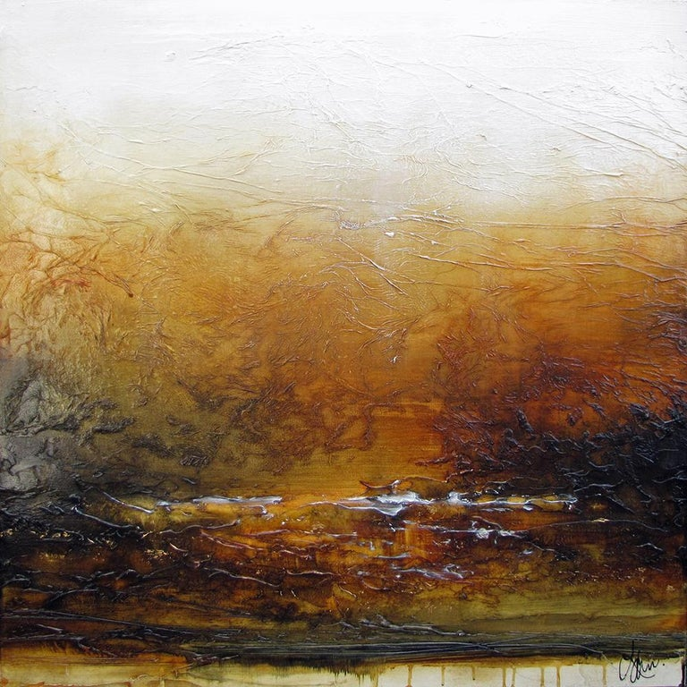 Laura's paintings are described as beautifully imperfect, and have the ability to stir powerful emotions, speaking to an inner voice often ignored. Often large in scale with strikingly bold colours and texture, each piece offers discovery. Her