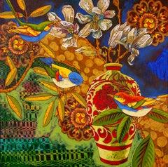 Original acrylic painting by Grant Leier  FAMILY