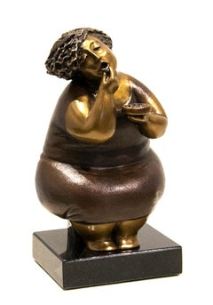 Limited edition bronze sculpture by Rose-Aimee Belanger  BONBONS  6/24
