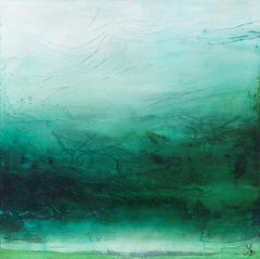 Original mixed media painting by Laura Harris  SHE IS WATER