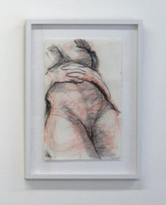 Figurative, Drawing, Graphite, Pencil, Paper, Drawing, Female, Body