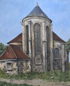 Jean Robert Ithier (1904-1977) A church, 1959, oil on canvas