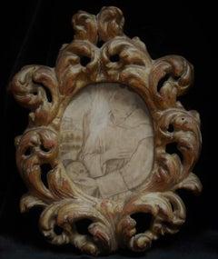 Italian School 17th Century, Saint Bonaventure, Old Master Gouache