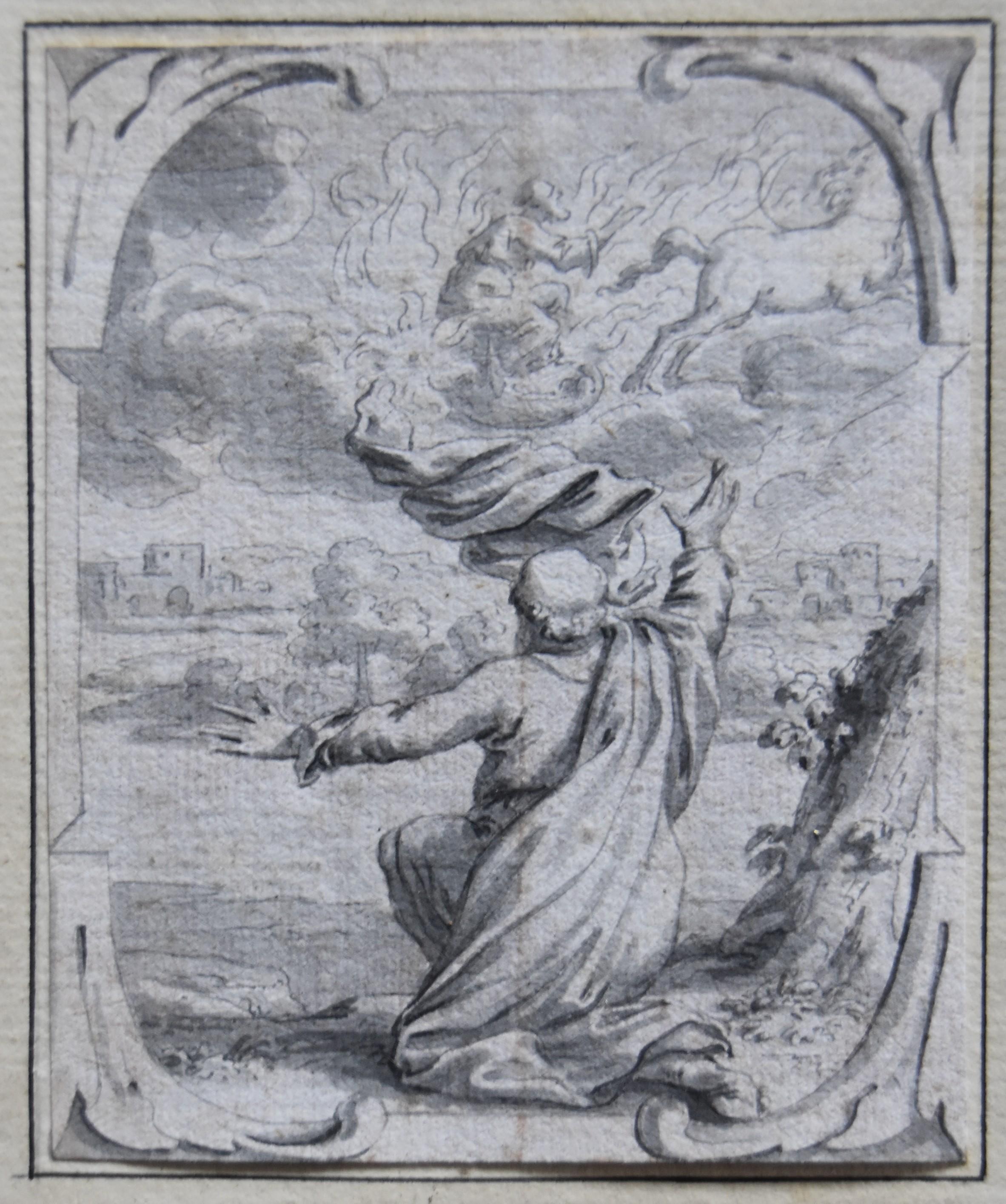 Joachim von Sandrart (1606-1688) Biblical episodes, 3 original drawings