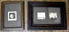 Eugène Ciceri (1813 - 1890) Three small landscapes drawings signed and framed