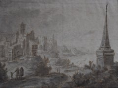 Jan van Almeloveen (1656 – 1684) An imaginary landscape, signed and dated 1680
