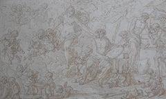 Louis-Félix de La Rue (1730-1777)Venus at Vulcan's Forge, drawing