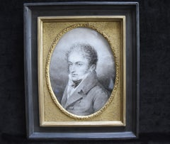 Lussigny, Portrait of a young man, 1809,original drawing