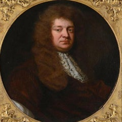 Portrait George Granville - 17th century,old master,portrait painting,Kneller