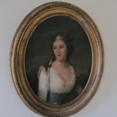 Portrait Duchess Of Cleveland - 18th century, old master , portrait painting