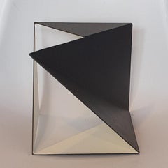 Steel 76 - contemporary modern abstract geometric sculpture