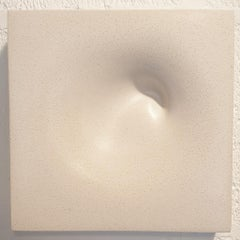 In the Beginning... - contemporary modern abstract sculpture relief object