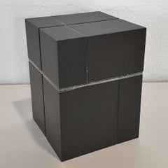 Lumière capturée - contemporary modern abstract geometric sculpture object