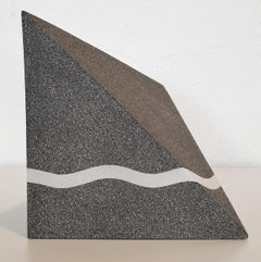 Untitled - contemporary modern abstract geometric ceramic sculpture object
