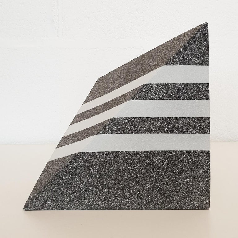 Let de Kok Abstract Sculpture - Untitled - contemporary modern abstract geometric ceramic sculpture object