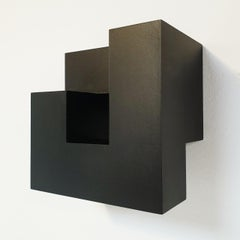 Carré architectural I no. 1/15 - contemporary modern abstract wall sculpture